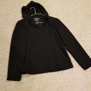 Teen Flo hooded jacket